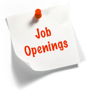 Job Openings in our System of Care