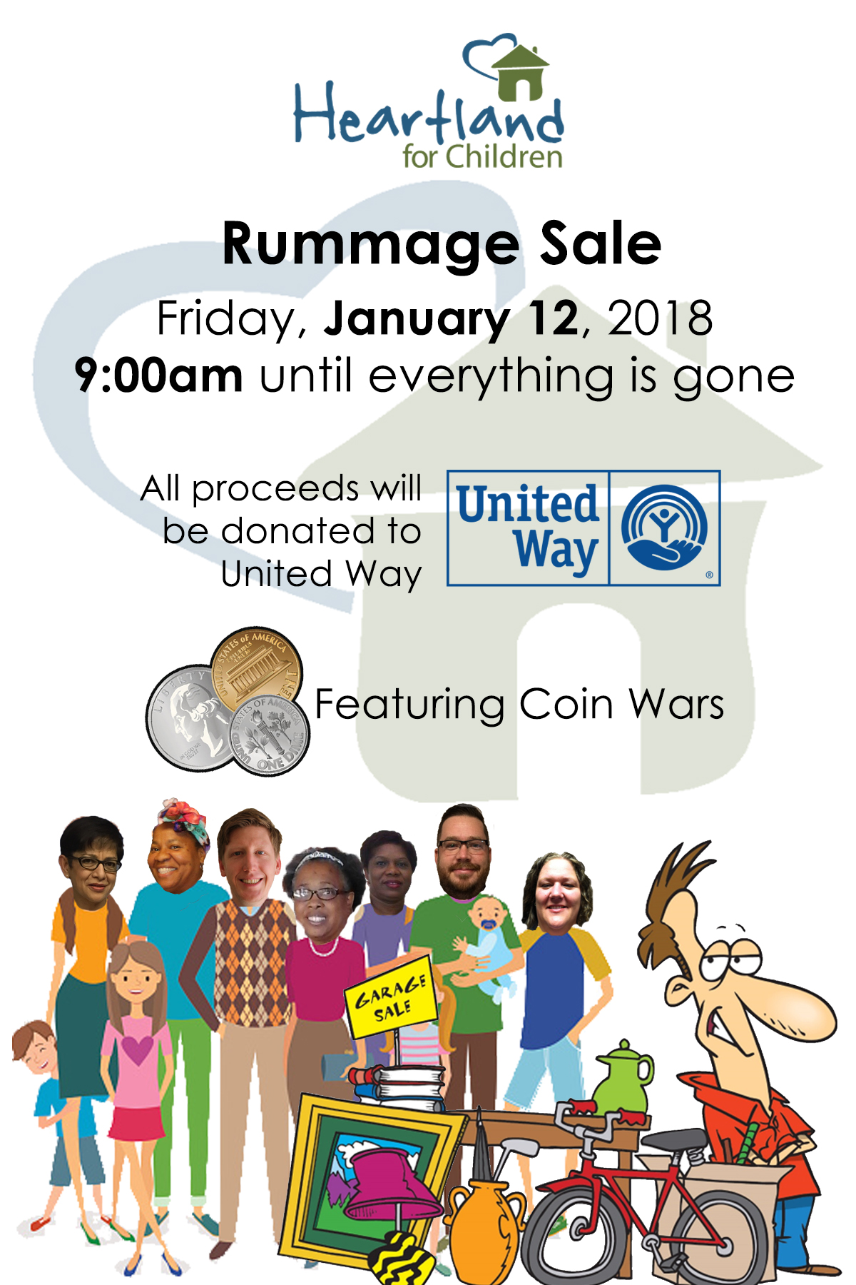 HFC Rummage Sale to Benefit United Way